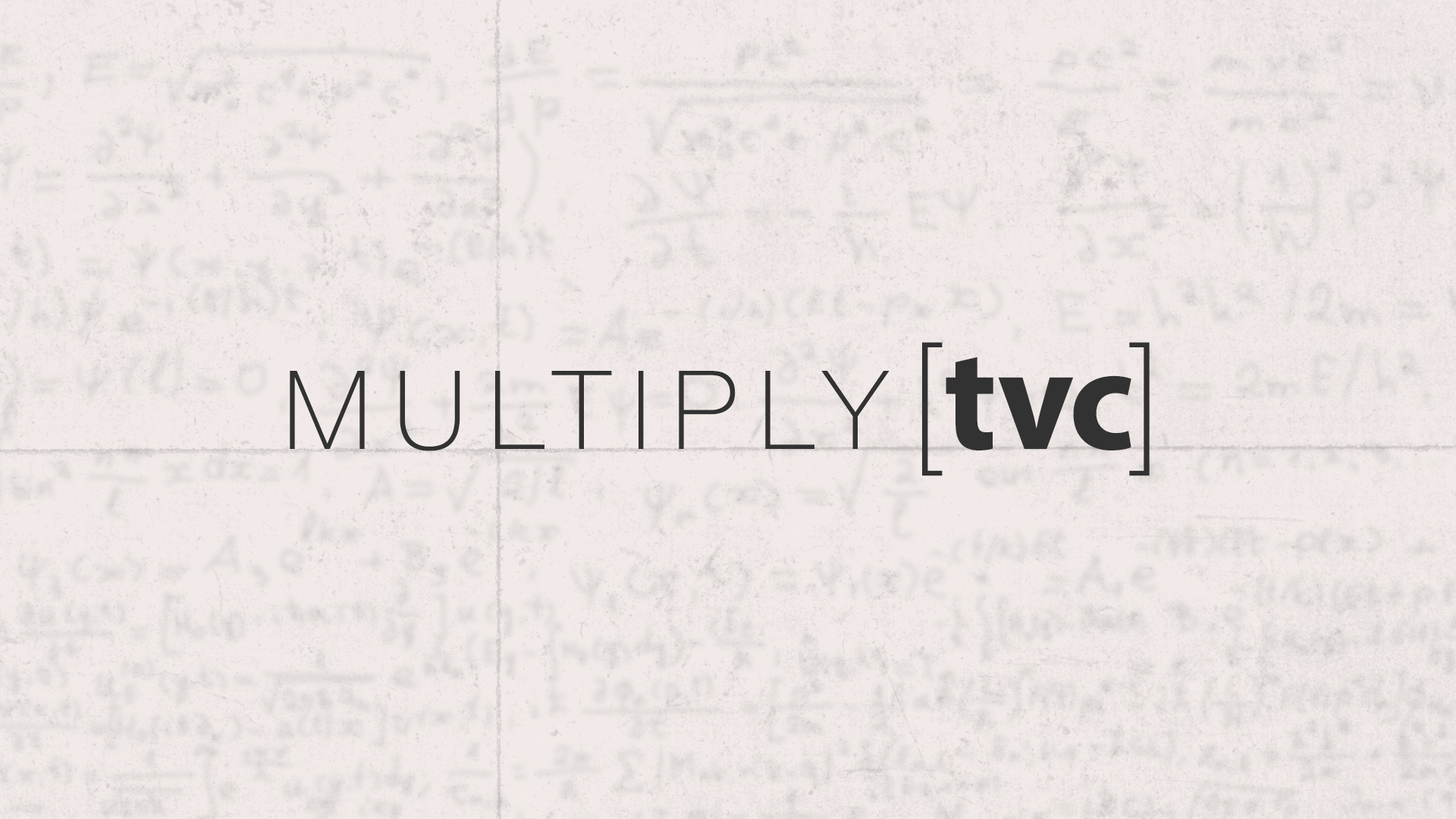 multiply [tvc] | Why Church Planting?